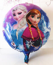 "18"" 2-Sided Frozen Elsa Anna Mylar Jumbo Balloon Birthday Party Supplies Cartoon"