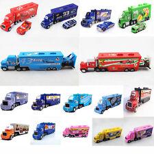 Disney Pixar Cars King Chick Hicks Francesco MACK HAULER Truck Tractor 1:55 Toy