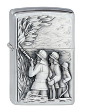 Zippo Mechero Bomberos Emblema, Bomberos, Colección 2011 Nº 2001662 Nuevo