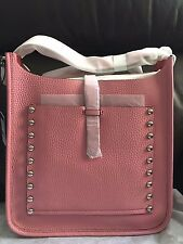 BNWT Authentic Rebecca Minkoff Unlined Feed Bag in Guava $325