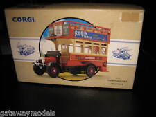 CORGI CLASSICS THORNYCROFT BUS YELLOWAYS PUBLIC TRANSPORT SERIES 96993