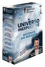 THE INEXPLICABLE UNIVERSE: UNSOLVED MYSTERIES  **Dvd R2** Box Set 5 Dvds
