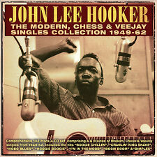 JOHN LEE HOOKER New Sealed 2017 COMPLETE SINGLES 1949 - 62 4 CD BOXSET
