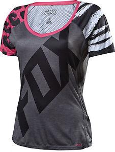Fox Racing Womens Lynx s/s Jersey Pink