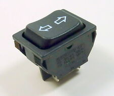 Power Window Sunroof Locks Rocker Momentary Switch DPDT (On)-Off-(On) 12V