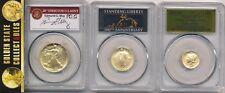 2016 w 3 coin centennial gold set pcgs sp70 first strike unique label trifecta !