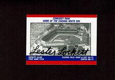 LESTER LOCKETT  Signed Fleer Sticker Card Autographed