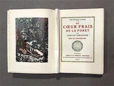 LEMONNIER (C.): Au cœur frais de la forêt Bois de Barthélemy. Éditions Mornay