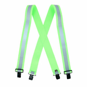 New Perry Suspenders Men's Clip-End Reflective Safety Suspenders