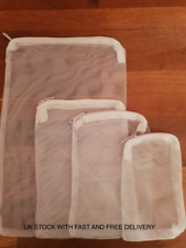 Zipped Filter Media Bags For Aquariums & Ponds, All Sizes Available Great Prices