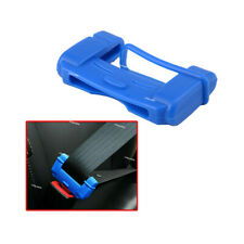 Car Safety Seat Belt Buckle Clip Blue Anti-Scratch Cover Silicone Accessories