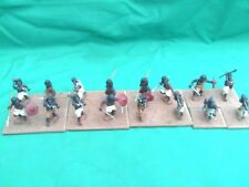 """ESSEX 25/28mm EXPERTLY PAINTED & BASED """"FUZZY WUZZIES"""" (SOME NAKED)UNIT X 16 NEW"""