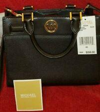 Michael Kors Reagan Black Leather XS Messenger Bag NWT