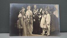 1937 Postcard Princess Juliana & Bernhard of the Netherlands Youngest Attendants
