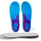 Pair Orthotic Arch Support Gel Insert Insole Flat Feet Shoes Cushion Pad US 8-12
