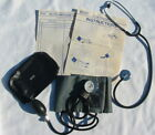 Vtg Sickroom Service Blood Pressure Kit & Stethoscope Sphygmomanometer Works Old