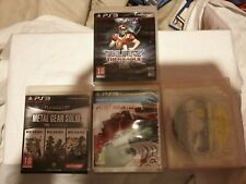 lot 4 jeu ps3 metal gear sdolid classic hd grid blitz need for speed most wanted