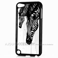 ( For iPod Touch 6 ) Back Case Cover AJ10170 Zebra