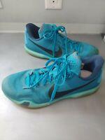 Nike 705317-403 Kobe X 10 Blue Lagoon 5 AM Flight Men Basketball Shoes Size 12
