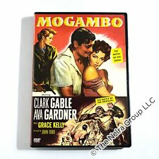 Mogambo DVD New Clark Gable Ava Gardner Grace Kelly Donald Sinden