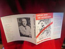 Edgar Rice Burroughs Tarzan And The Castaways original dust jacket, fine