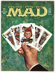 Mad Magazine #69 1962 Kelly Freas Cover EC Comics NM- 9.2