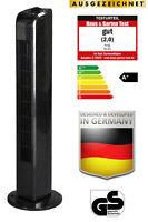 JUNG TV02 Turmventilator 76cm schw. Turmlüfter Ventilator Standventilator Lüfter