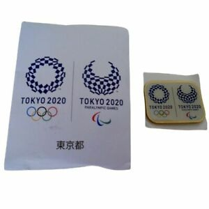 Official Tokyo 2020 Olympics and Paralympics Pin Badge Magnet