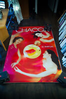 CHACOCK LOAN CHABANOL B 4x6 ft Shelter Original Vintage Advertising Poster