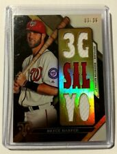 Bryce Harper 2016 Topps Triple Threads Relics 7x Jersey Relics #'d 03/36 card