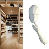 The Silent Person 3D Paper Craft Model Wall Decor Educational Toys