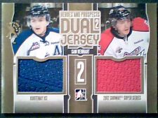 SAM REINHART  13/14 AUTHENTIC DUAL 2-COLOR PIECE OF GAME-USED JERSEYS /10
