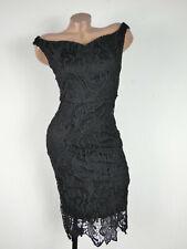 Señora bodyflirt vestido de cóctel vestido de fiesta vestido de noche carmen flores talla 32-34