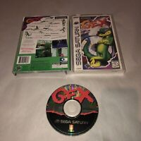Vintage Sega Saturn Game GEX Complete CIB w/ Registration Card Attached!