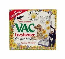 2x 6 Pack VAC Air Freshner Spring Meadow Vacuum Cleaner Pet Lovers Hoover Disc