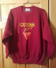Vintage Guess Jeans ASAP George Marciano SPELL OUT LOGO Crewneck Shirt USA