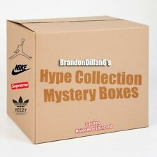 Mystery Sneaker and Street Wear Boxes.
