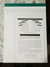 Rare Levenger GRID Style Pad of Paper Letter 8.5 x11