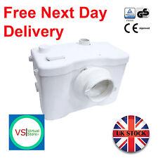 SteriFlux ® Macerator Sanitary Pump 3 in 1 Heavy Duty + Alarm 600W Carbon Filter
