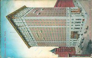 New york belmont hotel by irving underhill sucess post card co 1055