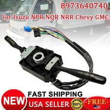 Wiper Turn Signal Combination Switch for NPR NRR Chevy GMC W4500 5500 8973640740