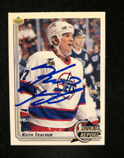KEITH TKACHUK 1993 UPPER DECK AUTOGRAPHED SIGNED AUTO HOCKEY NHL CARD 364