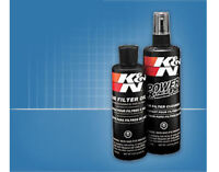 K&N 99-5050 Air Filter Recharger Kit - 8oz Squeeze-on Oil  / 12oz Bottle Cleaner