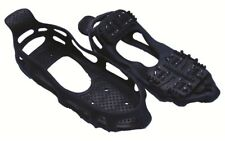 Pair of Steel Studded Spike Snow, Ice & Snow Anti Slip Grip Fits Boots & Shoes