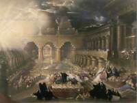 JOHN MARTIN BRITISH BELSHAZZARS FEAST OLD ART PAINTING POSTER PRINT BB5937B