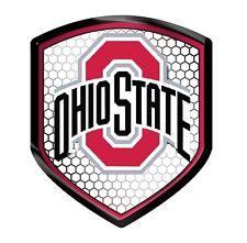 Ohio State Buckeyes High Intensity Auto Shield Reflector - Emblem, Decal