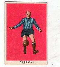 FIGURINA CARTONATA  CALCIATORI  RASA  1961-62  LECCO   GARDONI