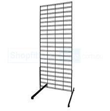 Gridmesh panel - wire grid mesh display stand, metal slatwall panel, slat wall