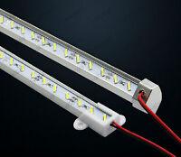 10*1M/meter 72 LED SMD7020 Strip Light Lamp Hard Rigid for Bar Showcase DC 12V