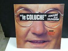 """COLUCHE Mes adieux au music-hall MLP 1006 Avec le bandeau """"censuré a la tele"""""""